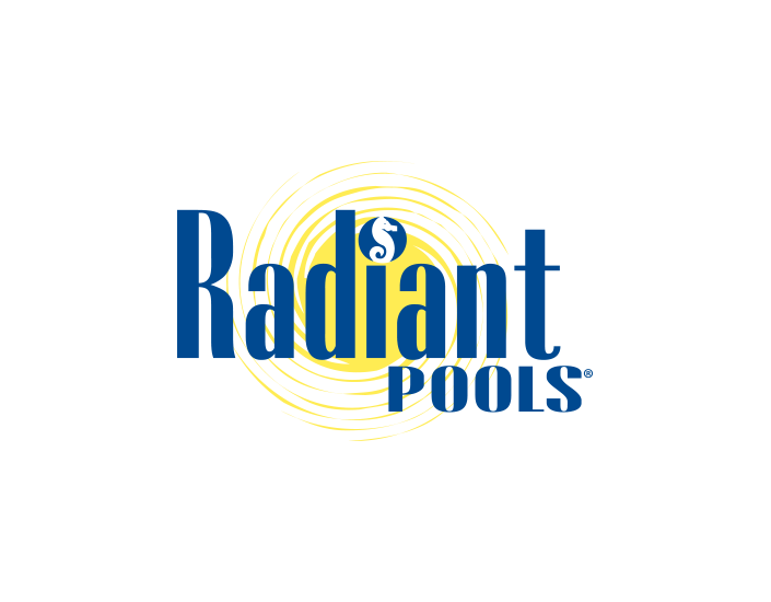 Radiant Pools logo